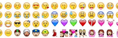 Top100 emojis en Instagram