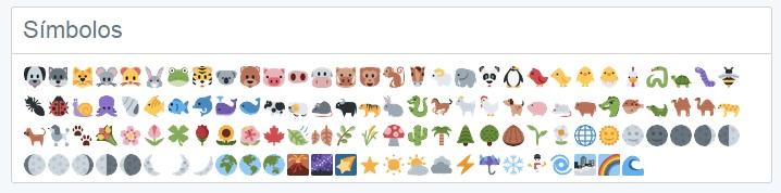 emoji twitter simbolo