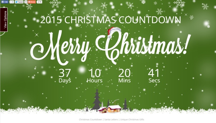 christmasdaycountdown christmasdaycountdown options christmasday countdown colours - How Many Days Till Christmas Eve