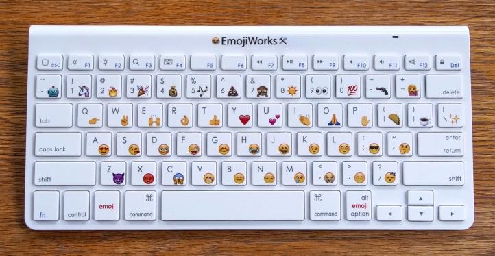 Teclado Emoji simple | Maria in the net
