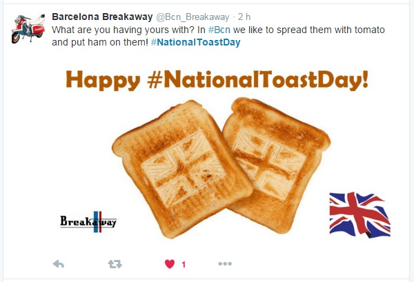 toast breakaway