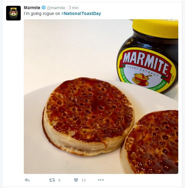 toast marmite